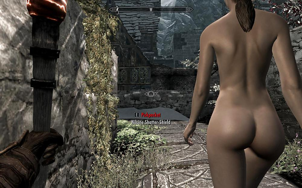 skyrim Nude females for