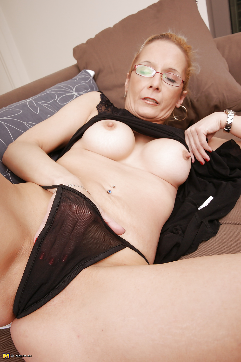 Nerdy mature first time videos #6