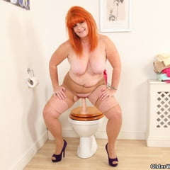 Ginger Tiger From OlderWomanFun