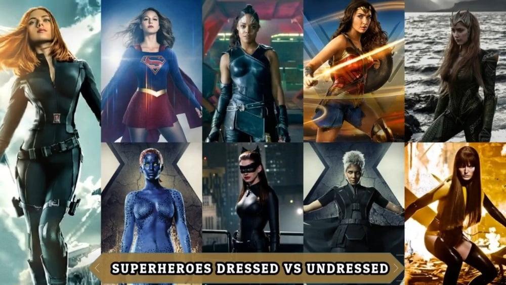 Superheros: Dressed vs. Undressed - 37 Pics