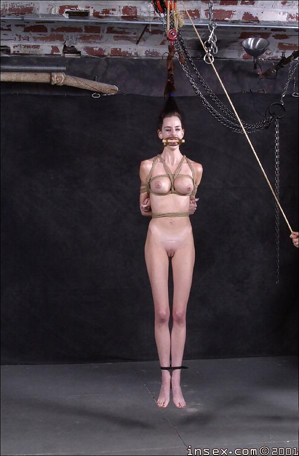 Bdsm girls tit hanging