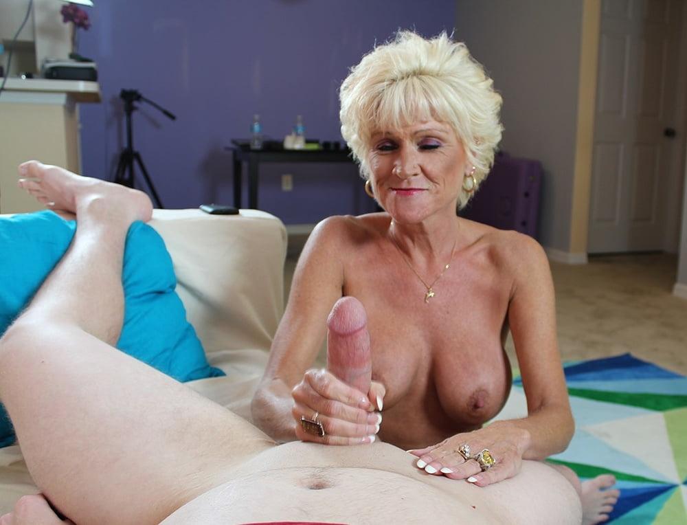 Granny handjob free porn photo