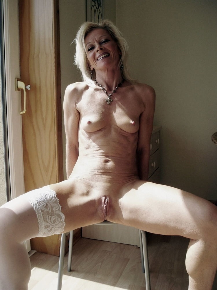 Nude skinny mature blondes #5