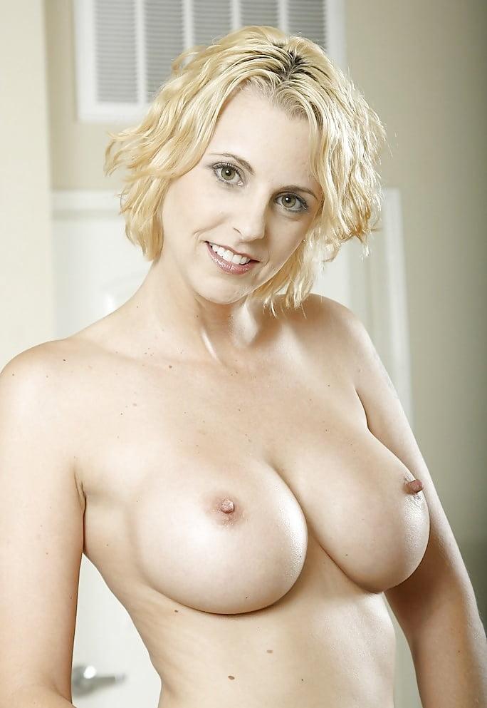 Slut wives big boobs short hair blonde