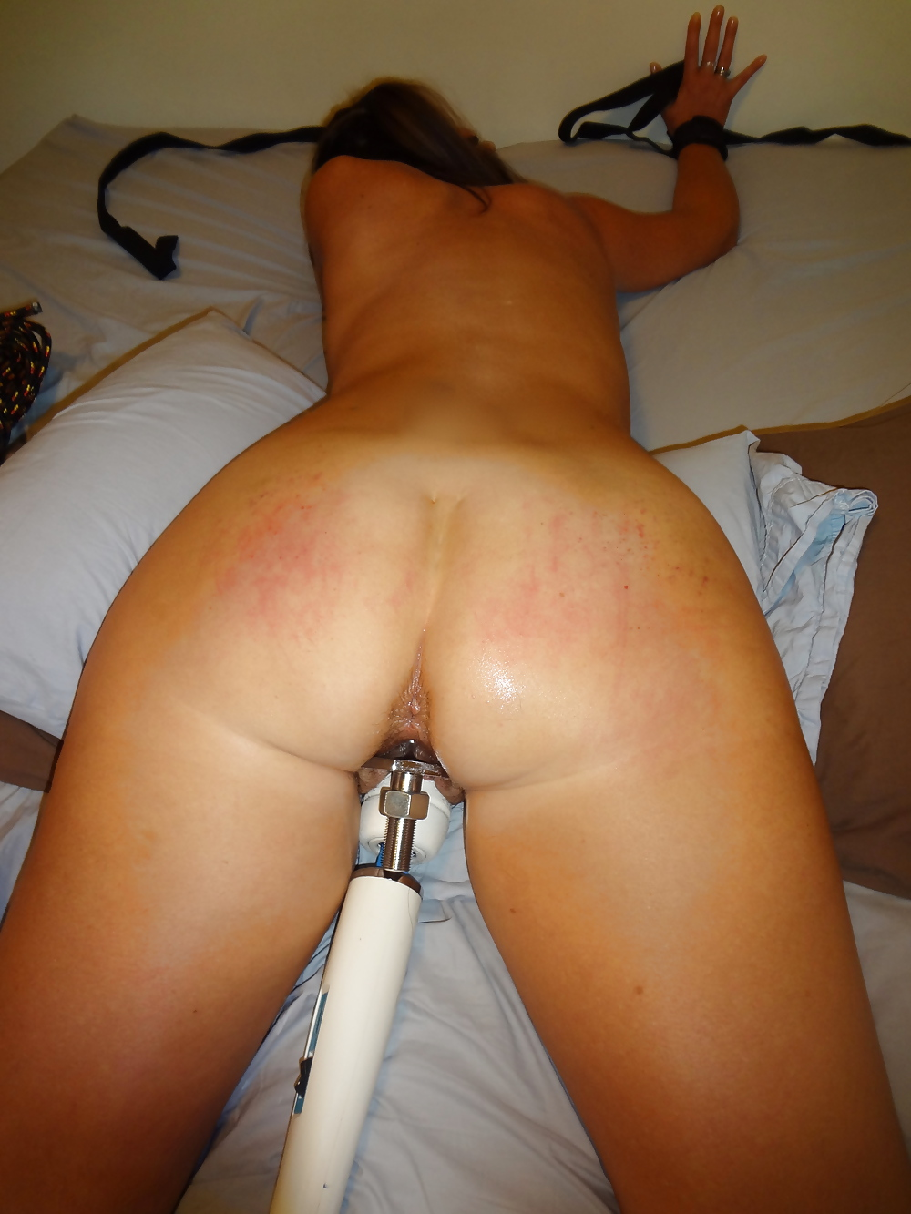 butt Tied up fucked and