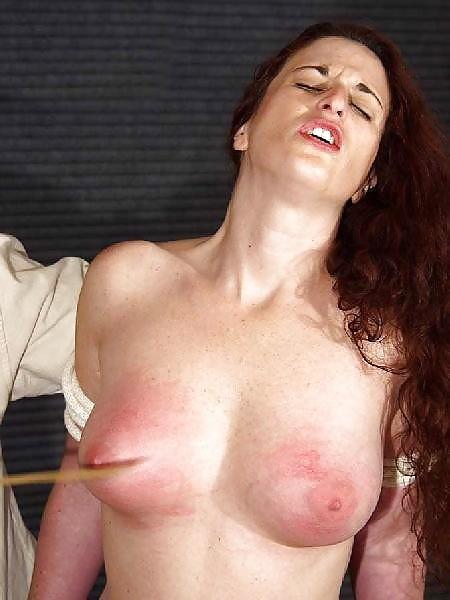 Breast spanking porn pics