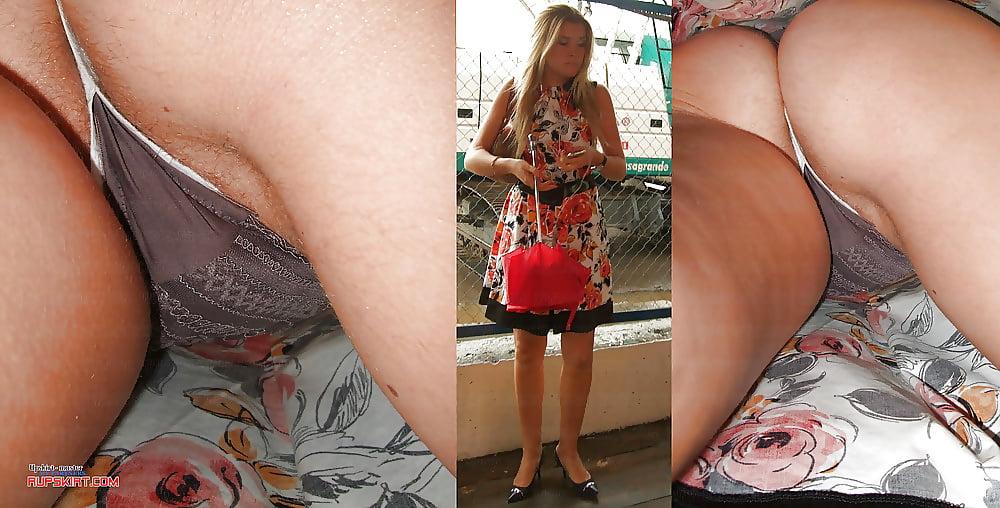 Dirty panties wear amateur upskirt worn panty