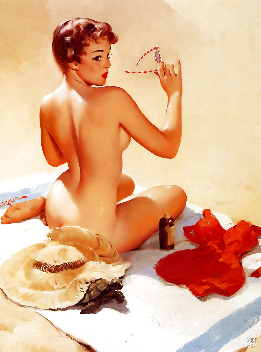 Vintage pin up girls naked
