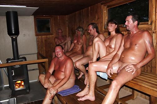 поход в баню голышом