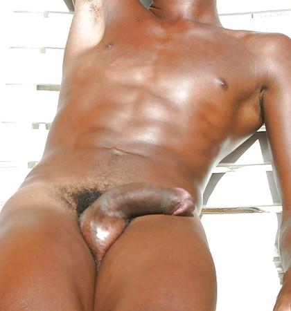 Well hung black man