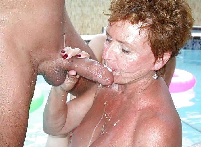 Old women cum pics
