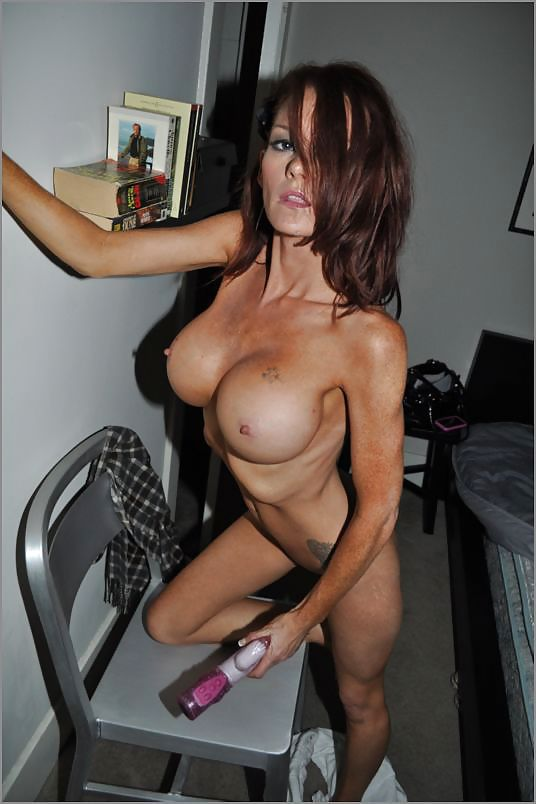 Skinny girl with fake boobs naked #14