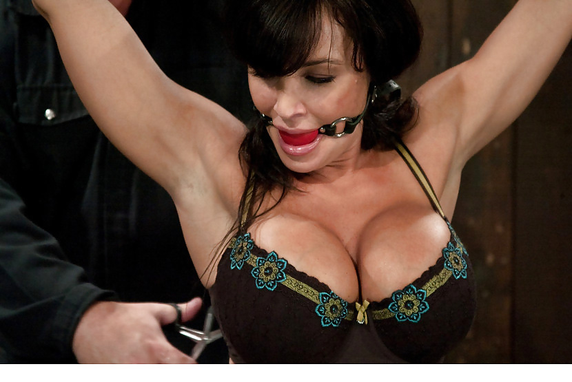 Lisa ann in bondage 14