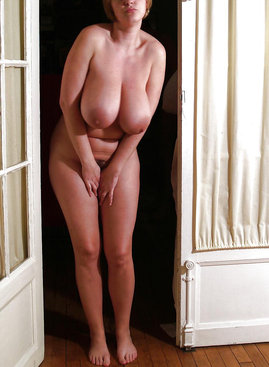 большая натуральная грудь зрелой женщины - 8