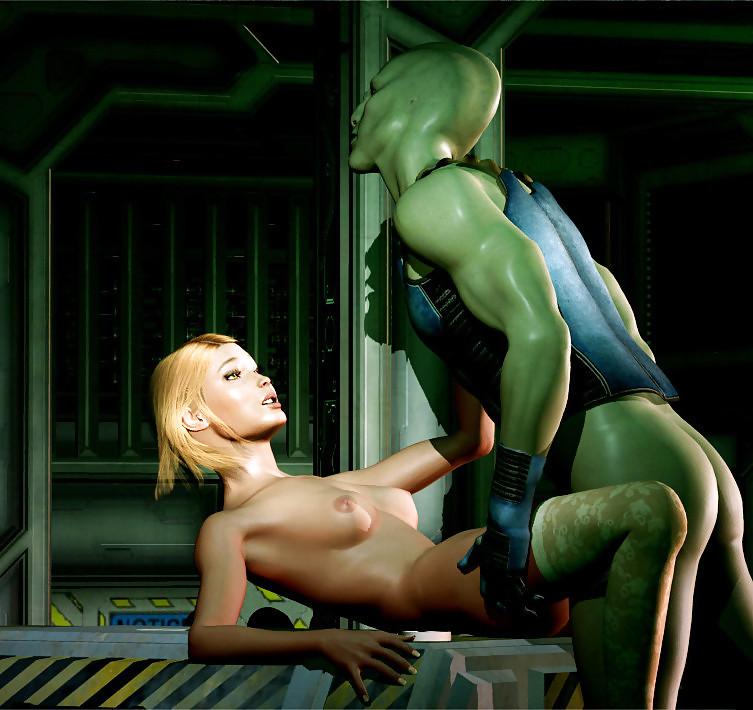 Alien porno
