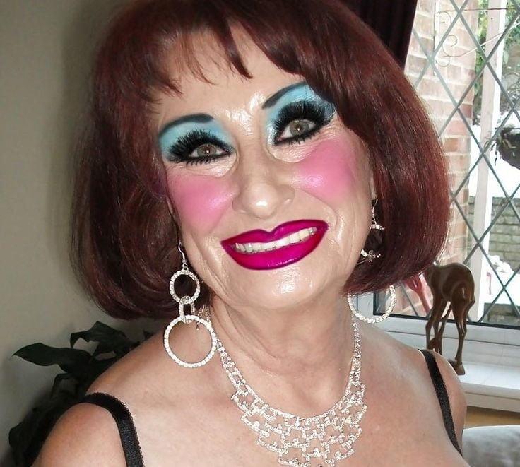 Heavy Makeup Sluts Fetish Porn Pic