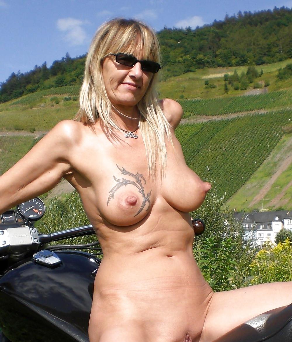 Bumpy nipples milf