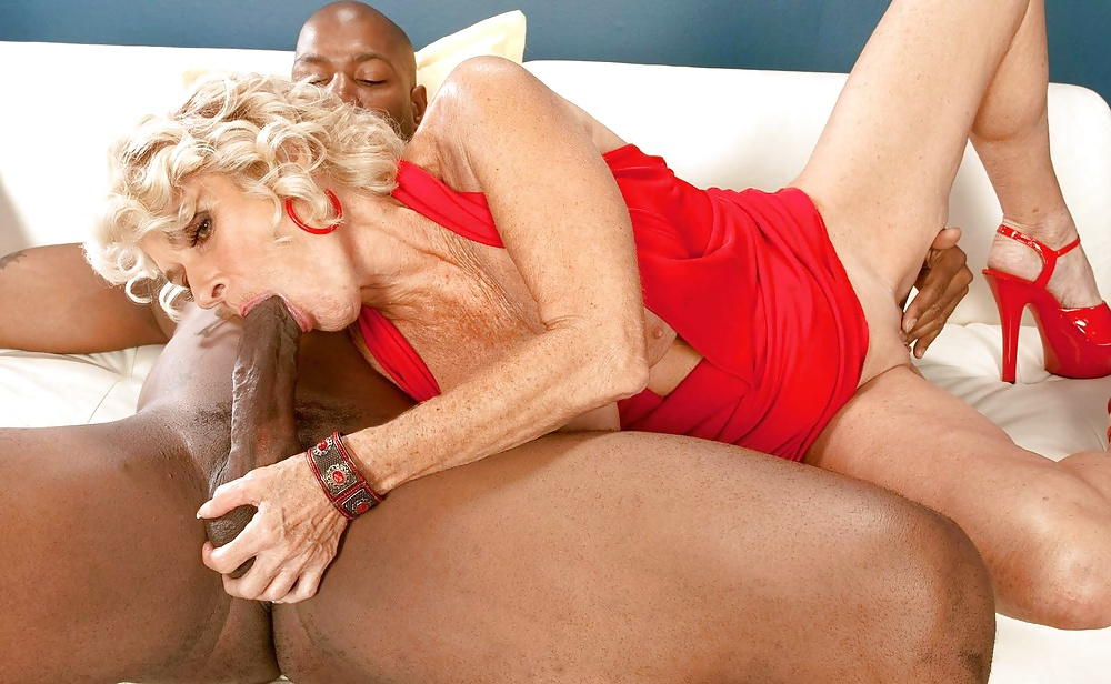 Granny does her black boyfriend