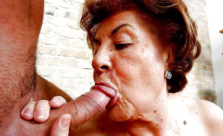 Granny Fuck Facial Porn Pics