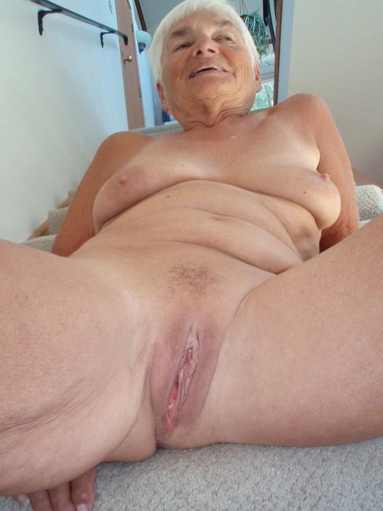 Sexy naked mature women stockings
