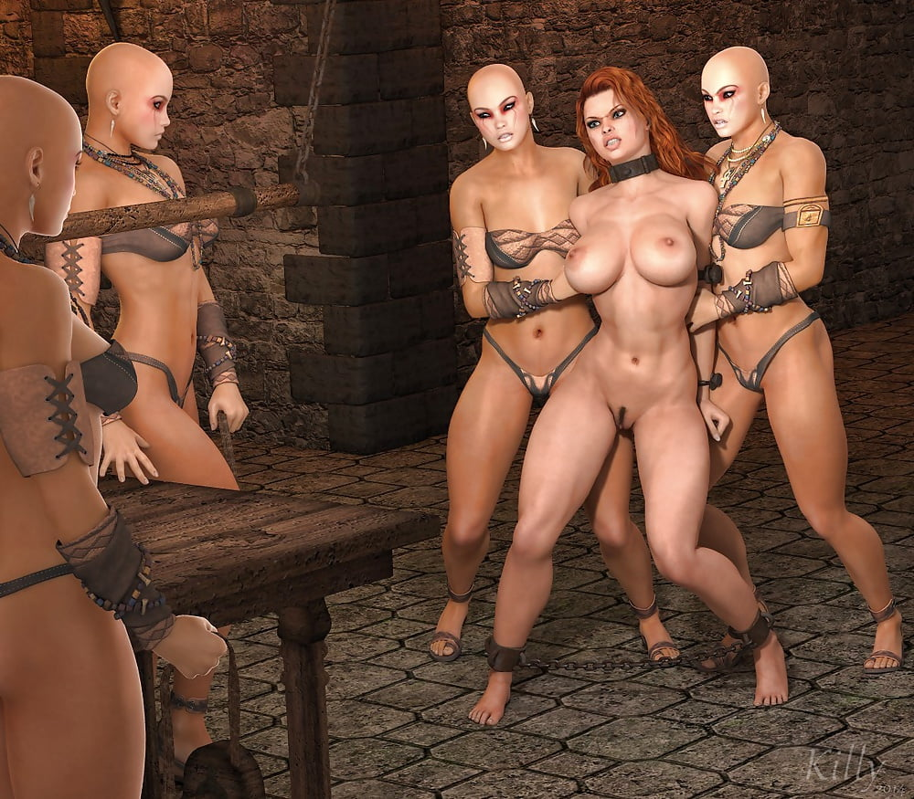 Female business partners get naughty in lesbian bdsm games