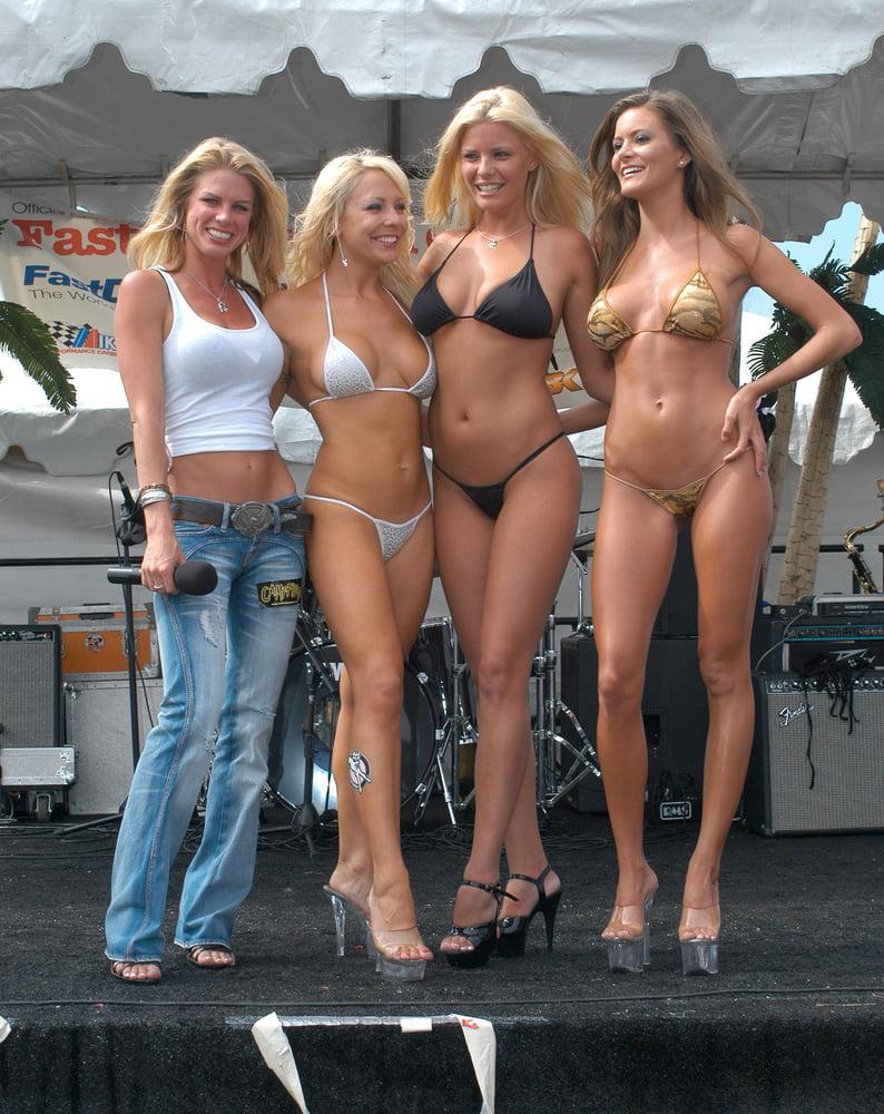 Biker chick daytona beach topless in beach hot images, nudist couples