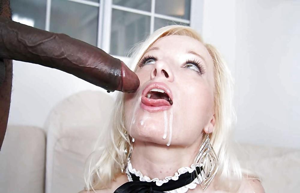 доколко черную девушку трахает в рот белый губу, гейл опустила
