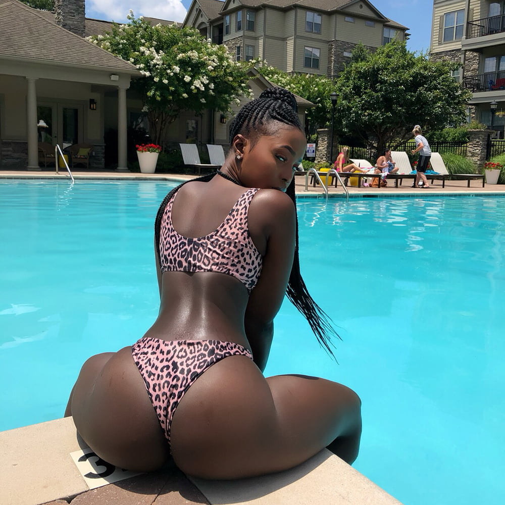 Black girls butt holes — 8