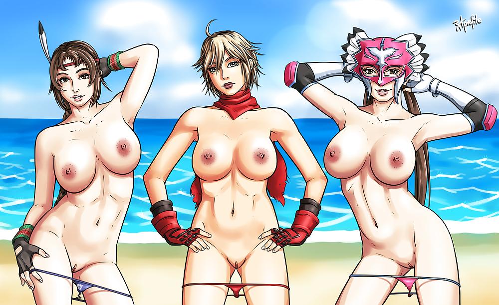 Tekken Girls Half Naked