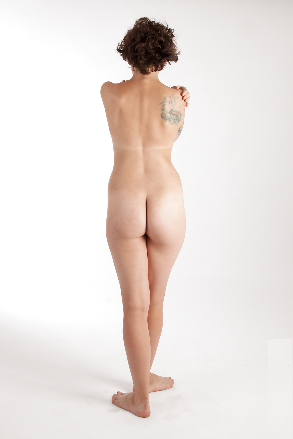 Sexy Naked Girl Standing Up
