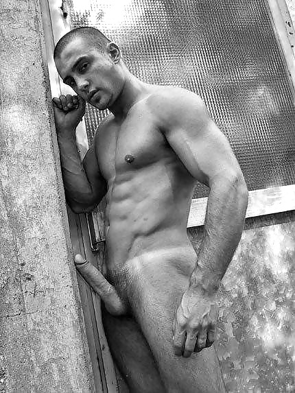 Clothed female nude male
