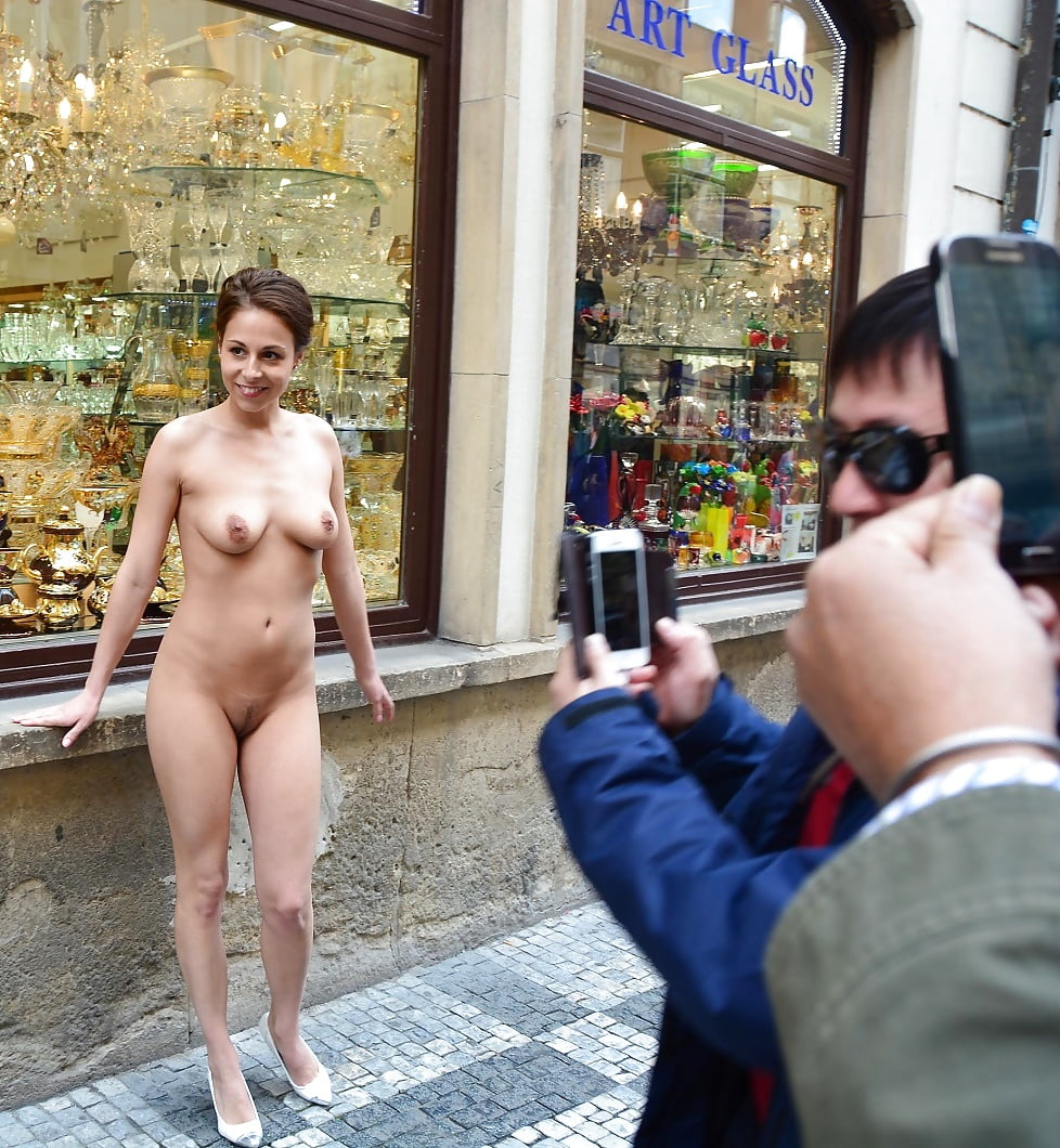 Naked Girls Covert With Cum In Public