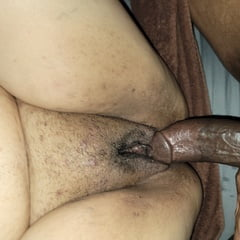 Dick In Fat Wet Latina Pussy