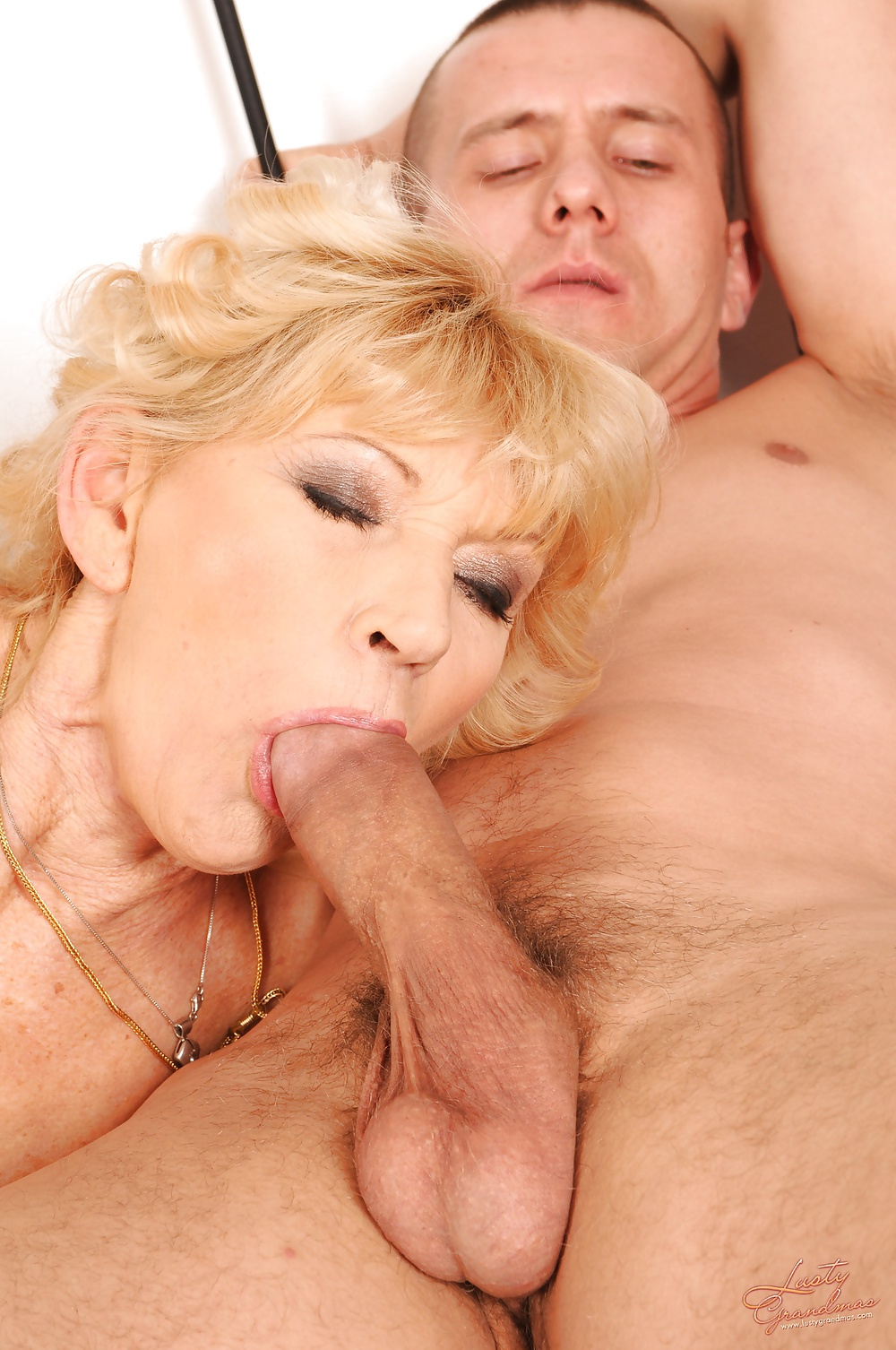 Granny fuck young studs — pic 9