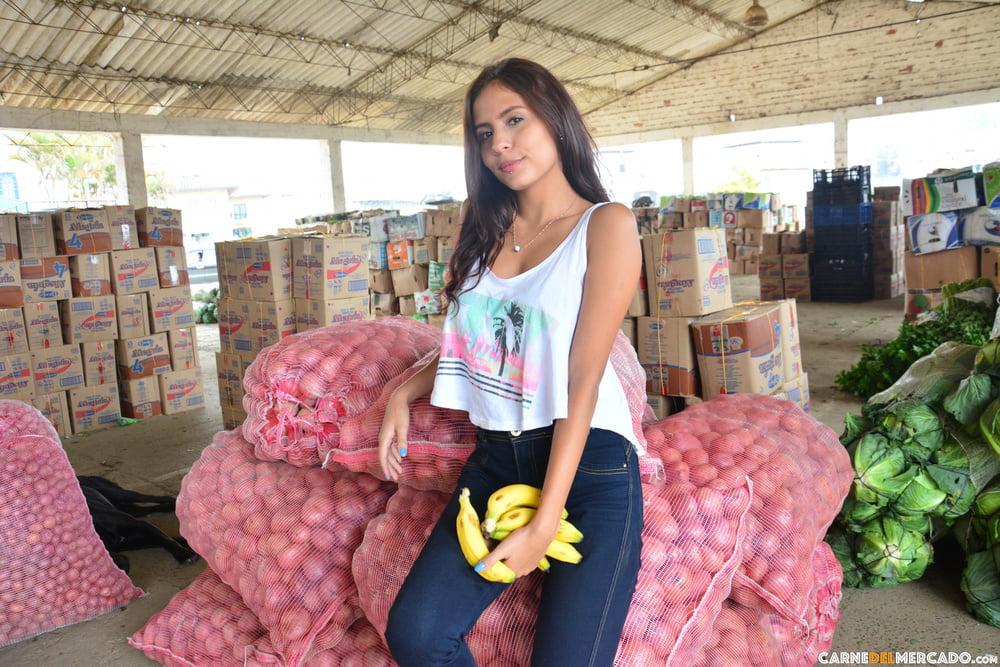 Perfect Amateur Latina Colombiana Teen (18+) Hardcore Sex