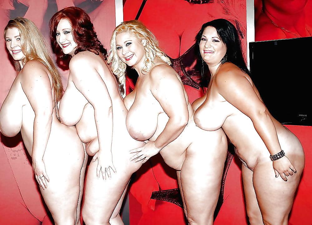 Порно с голыми толстушками