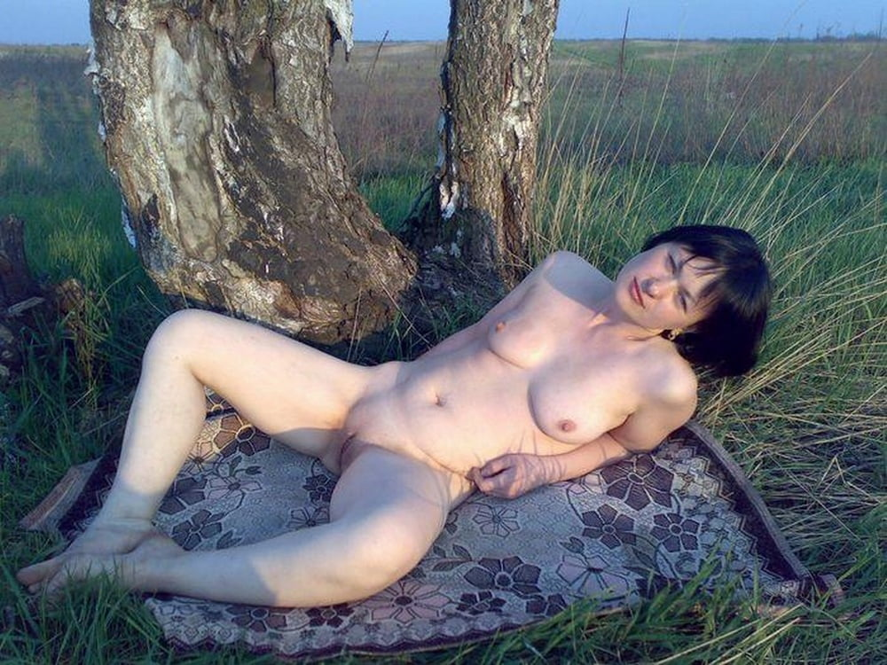домашние фото голых любовниц на природе - 5