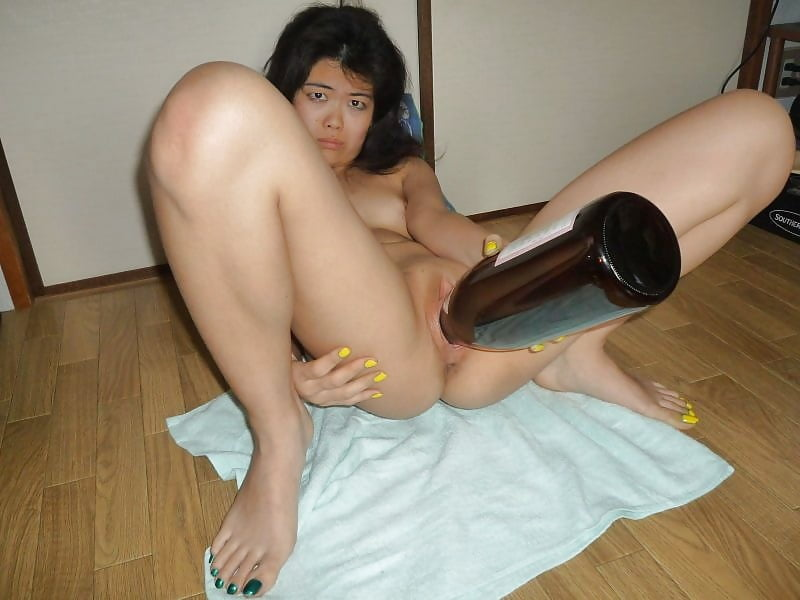 Anal asian solo