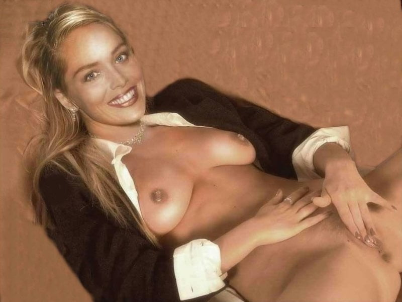 Sharon stone reveals why she posed nude for playboy