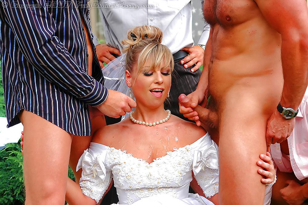 трахают невесту при теще тех