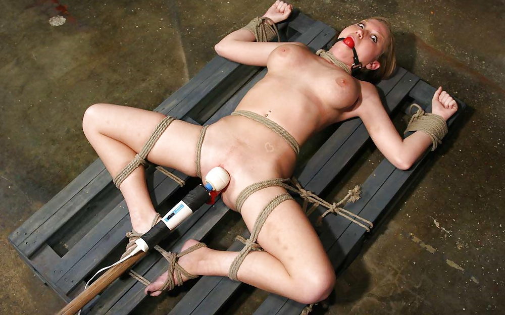 Tied up fucking machines porn pics