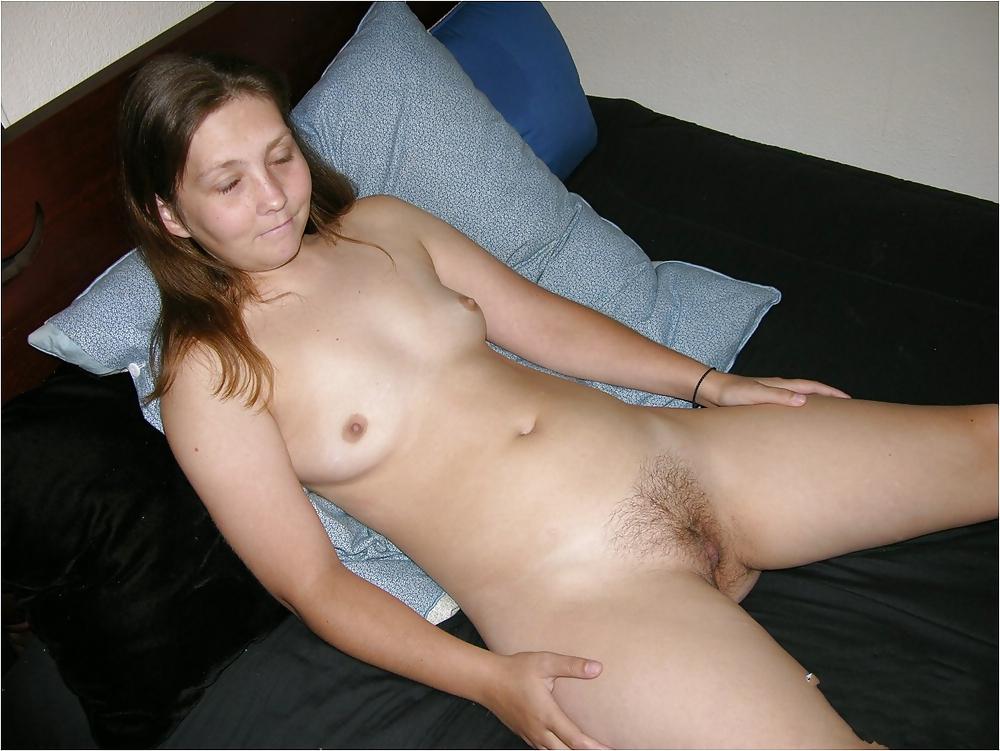 Women in satin panties