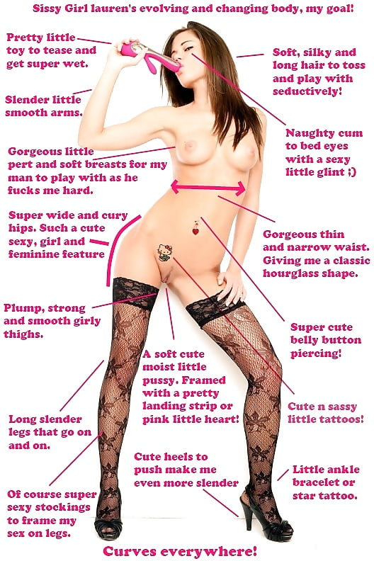 To become a sissy cunts, opening dripping pussy lips
