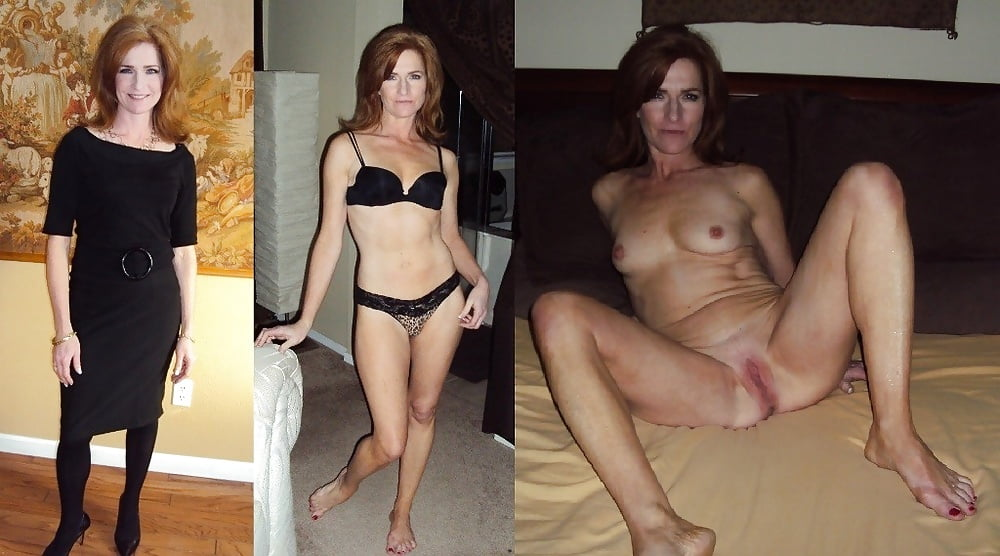Milfs dressed and undressed