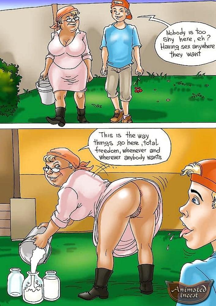 Porn grandma cartoon Cartoon Porn
