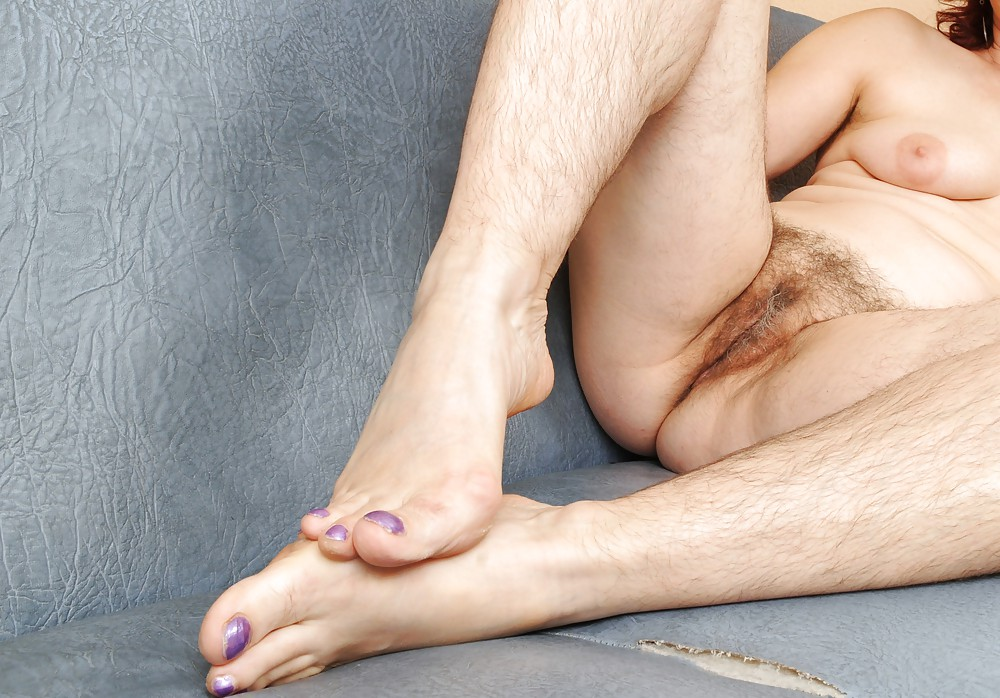 Hairdressers hairy feet