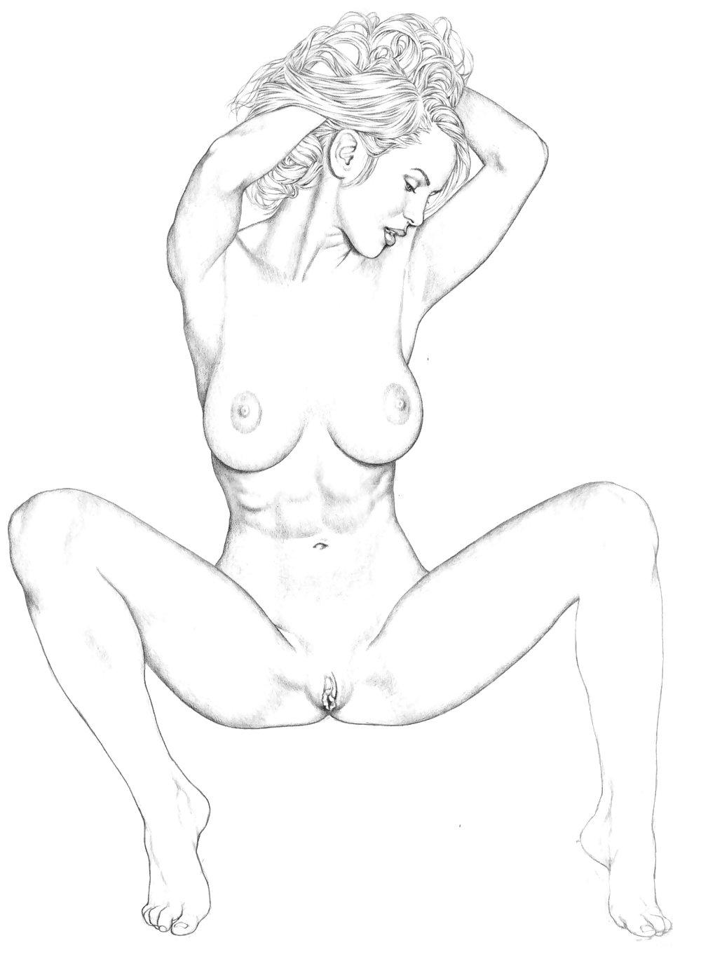 Naked sketches of henti girls, sapphic erotica hairy