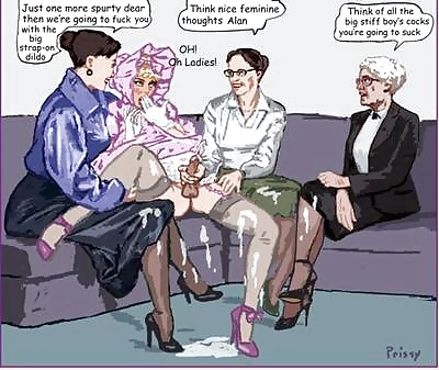 Sissy cartoon sex