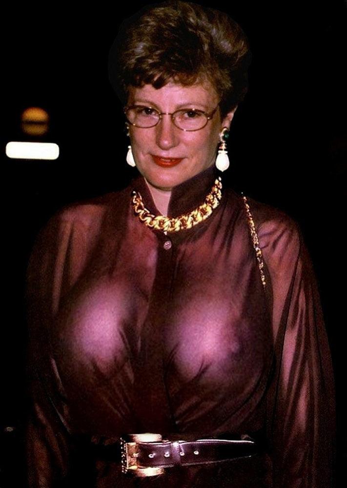 Old ladies tits