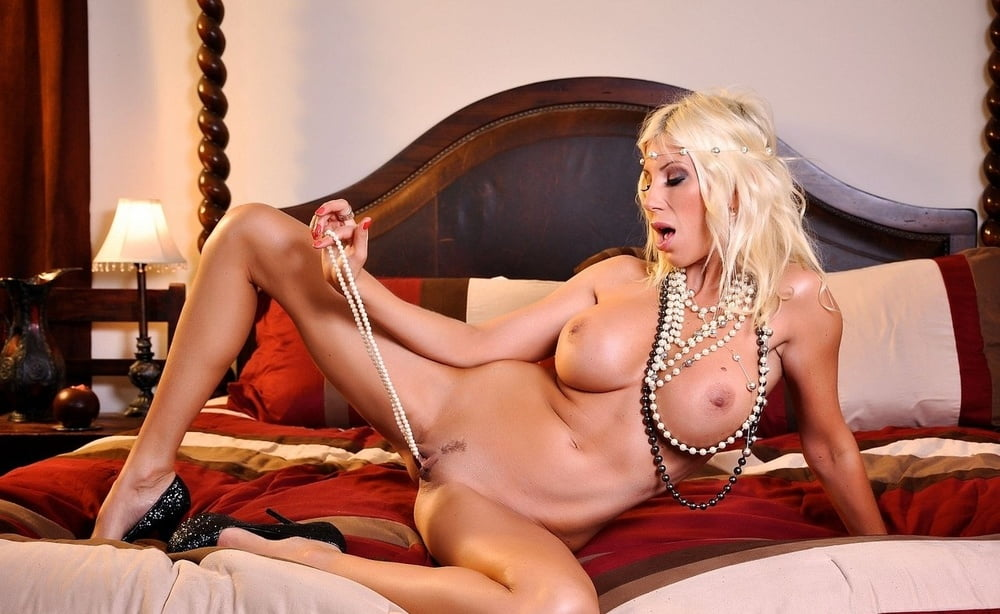 Sultry Erotic Puma Swede With Big Tits Bared Stuffs Vagina Pearl 1